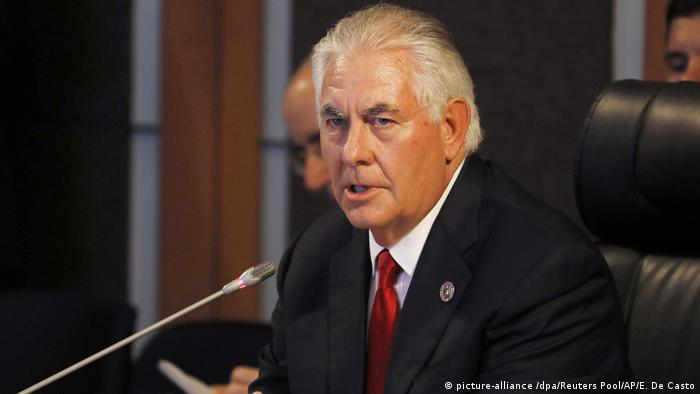 Philippinen Manila - Rex Tillerson (picture-alliance /dpa/Reuters Pool/AP/E. De Casto)