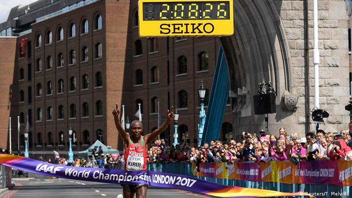 UK Leichtathletik-WM: Kenianer Kirui holt Marathon-Gold