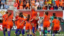 Soccer Football - Netherlands vs Denmark - Women's Euro 2017 Final - Enschede, Netherlands - August 6, 2017 Netherlands' Jackie Groenen celebrates victory REUTERS/Yves Herman