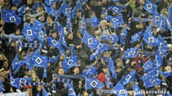 Navijači HSV-a na stadionu u Hamburgu