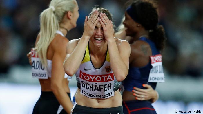 UK Leichtathletik-WM - Carolin Schäfer