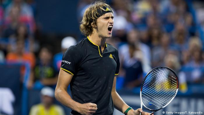 Tennis 2017 Citi Open - Alexander Zverev (Getty Images/T. Katopodis)