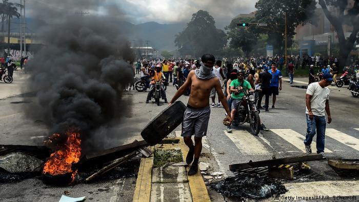Venezuela Krise - Straßenproteste