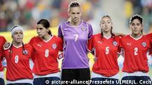 Fussball Frauen FIFA U 20 WM 2008 - Chile vs New Zealand - Team Chile