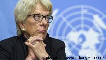 Carla del Ponte gibt ihren Posten in der Uno-Untersuchungskommission für Syrien ab