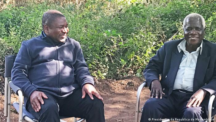 Filipe Nyusi e Afonso Dhlakama encontraram-se na Gorongosa em agosto
