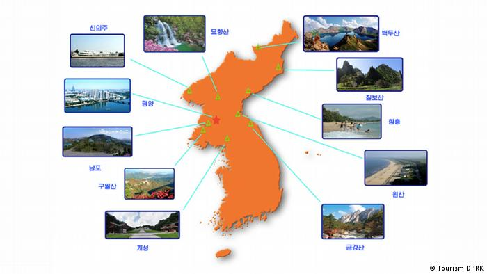 Even though it is impossible for its inhabitants to leave North Korea, the country invites foreign tourists to discover the many attractions of the country. The official North Korean travel agency even launched its international website in August, offering trips to various parts of North Korea and even theme tours focused on architecture, biking, sports or - as cynically as it sounds - labor.