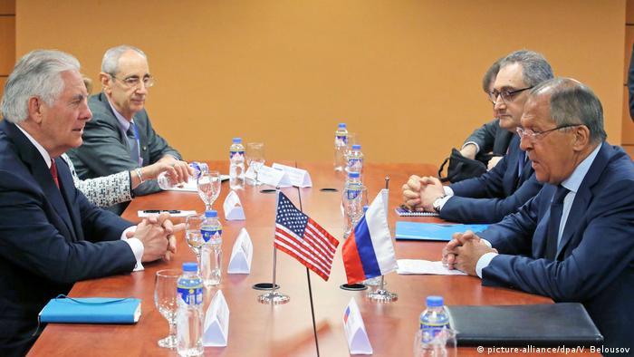 Philippinen ASEAN Außenministertreffen in Manila Lawrow und Tillerson