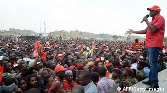 Kenia Wahl Uhuru Kenyatta