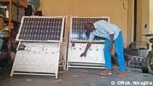 Burundi Stromversorgung Solaranlage in Bujumbura