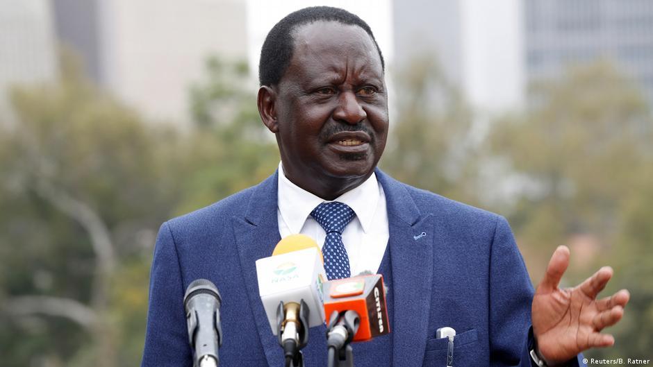 Kenia Raila Odinga PK in Nairobi