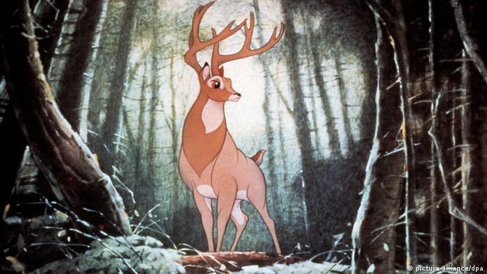 The great prince - a buck from Walt Disney's Bambi (picture-alliance/dpa)