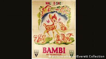 Bambi movie poster, French (picture-alliance/Everett Collection)
