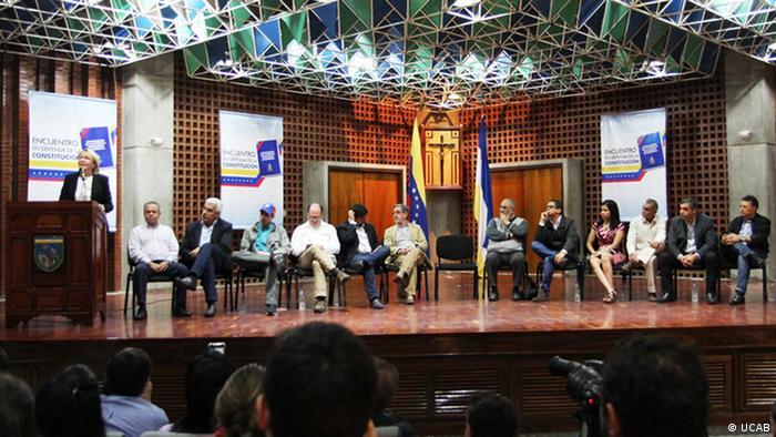 Hochrangige venezolanische Oppositionspolitiker sowie chavistische Dissidenten Venezuela Event in Caracas (UCAB)