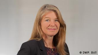 Astrid Prange de Oliveira, de DW.