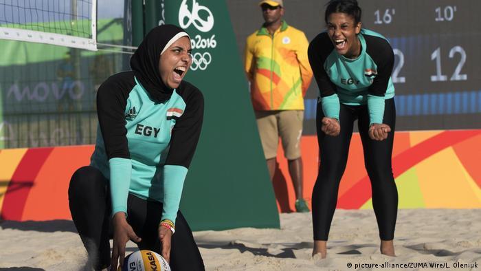 Brasilien Rio de Janeiro Beach Volleyball (picture-alliance/ZUMA Wire/L. Oleniuk)