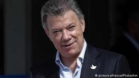 Juan Manuel Santos (picture-alliance/Photoshot)