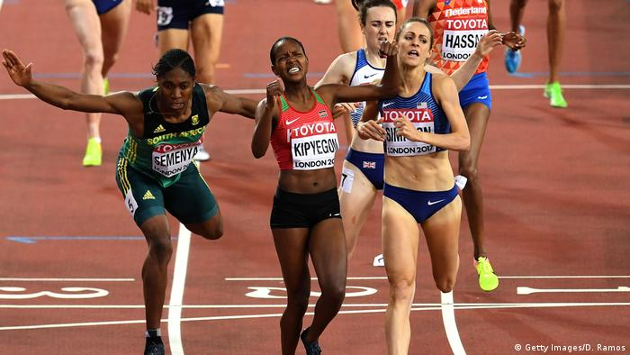 Großbritannien Leichtathletik-WM in London - Läuferin Faith Chepngetich Kipyegon (Getty Images/D. Ramos)