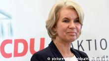 Deutschland Politikerin Elke Twesten im Landtag in Hannover
