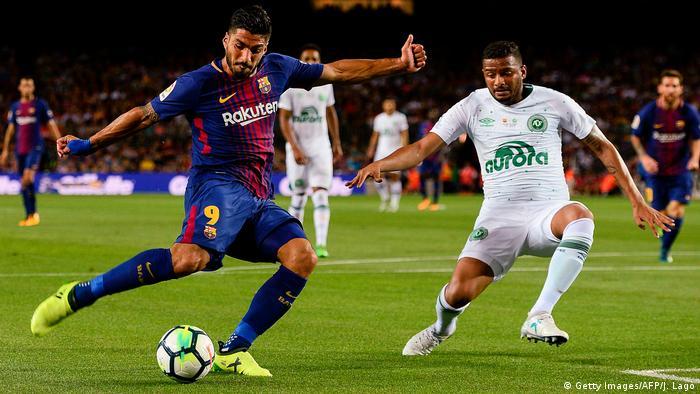 Spanien Fußball Freundschaftsspiel - FC Barcelona und Chapecoense (Getty Images/AFP/J. Lago)