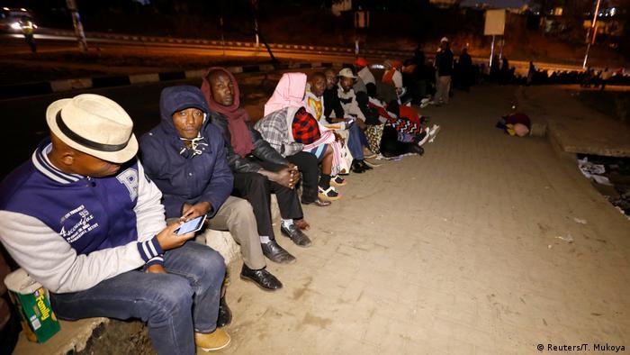 Kenia Wahlen in Nairobi