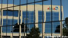 Google logo on office building in Irvine, California (Reuters/M. Blake)