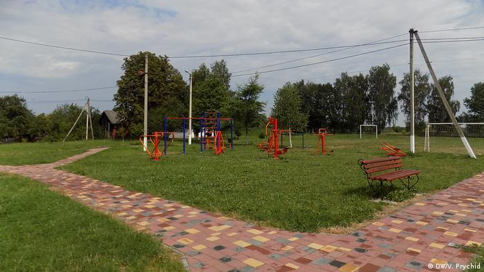 Новий дитячий майданчик у Грабовецькій об'єднаній територіальній громаді