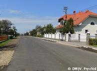 Отремонтированная дорога в Грабовецкой общине (Львовская область)