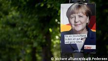 CDU election placard