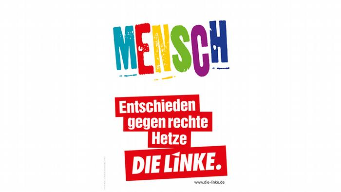 Die Linke election poster