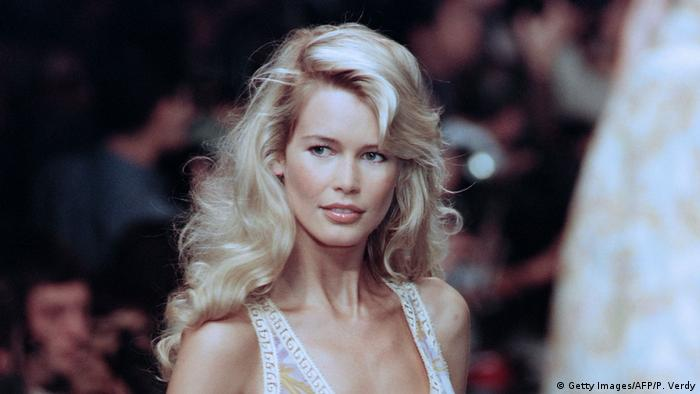 Claudia Schiffer deutsches Model (Getty Images/AFP/P. Verdy)