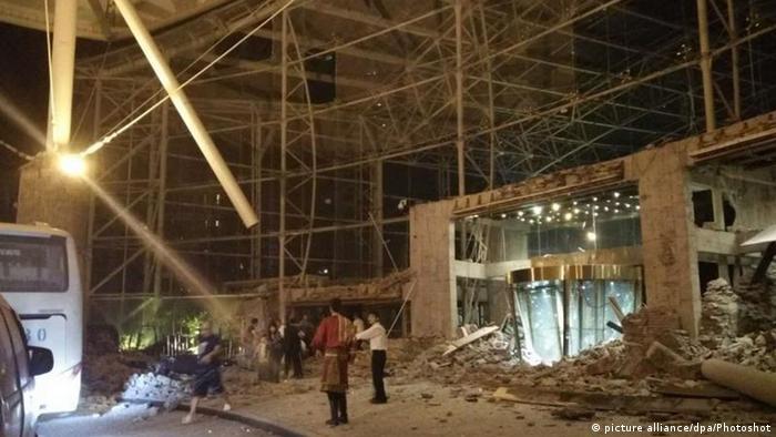 Наслідки землутрусу в провінції Сичуань, 8 серпня 2017 року