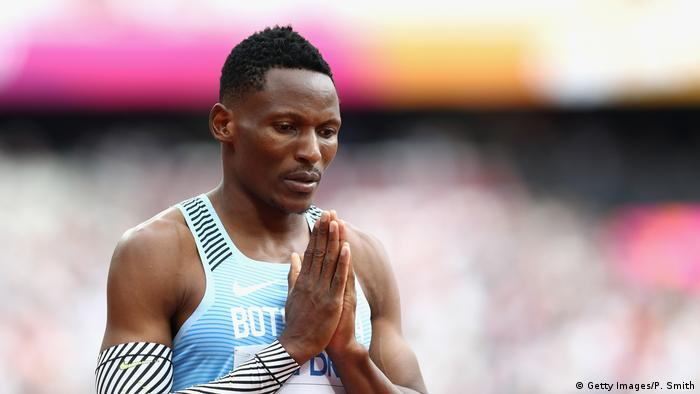 Großbritannien Leichtathletik-WM 2017 in London 400 Meter Läufer Isaac Makwala (Getty Images/P. Smith)