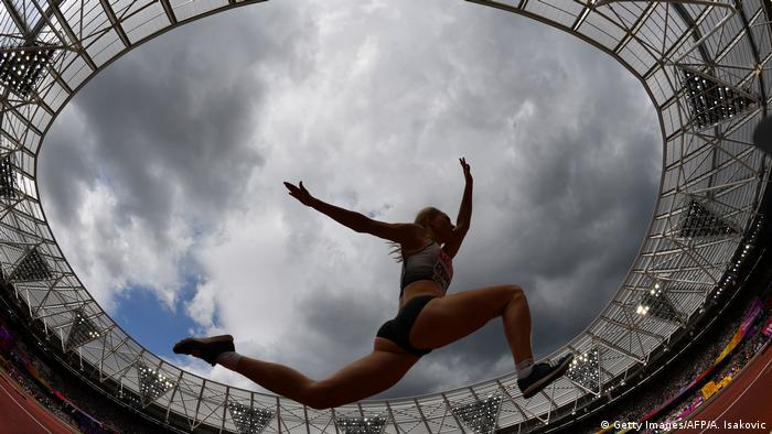 Großbritannien Leichtathletik-WM 2017 in London Dreisprung Neele Eckhardt (Getty Images/AFP/A. Isakovic)