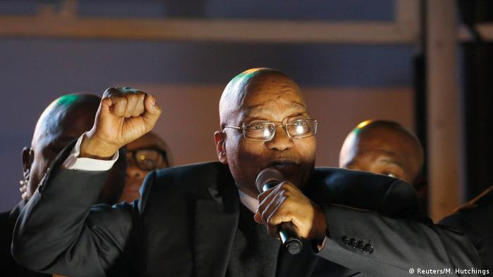 Rais Jacob Zuma wa Afrika Kusini (Reuters/M. Hutchings)