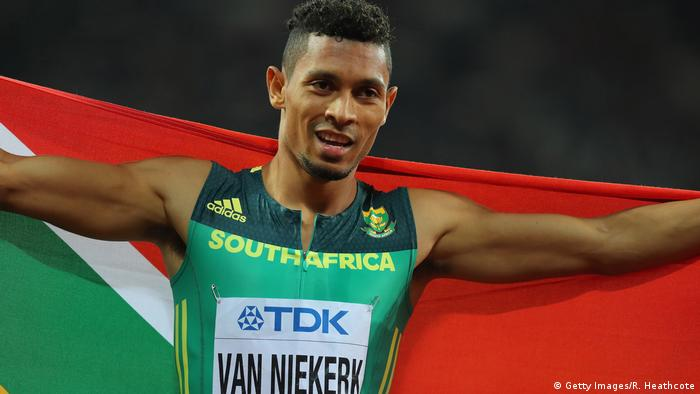 16. IAAF Leichtathletik-Weltmeisterschaft London 2017 Wayde van Niekerk (Getty Images/R. Heathcote)
