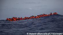 Migranten aus Libyen