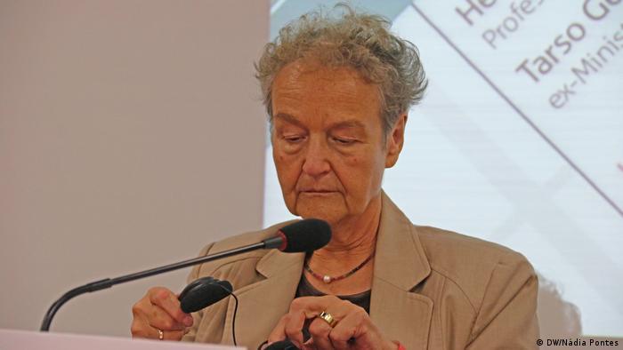 """""""Brasil é outro mundo"""", diz ex-ministra da Justiça alemã"""