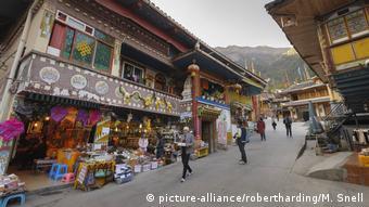 China Jiuzhaigou National Park Tibetan Village, Jiuzhaigou Nine Village Valley, Sichuan province, Asia
