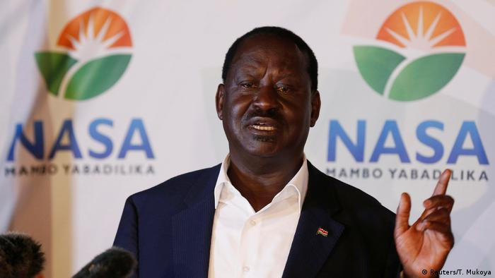 Raila Odinga (Reuters/T. Mukoya)