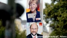 Wahlplakate in Berlin
