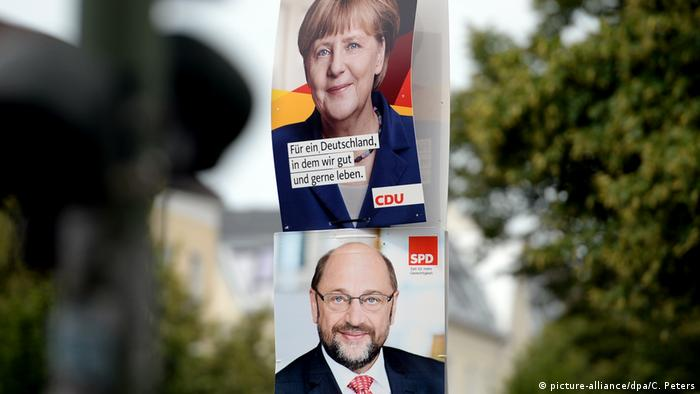 Election posters in Berlin