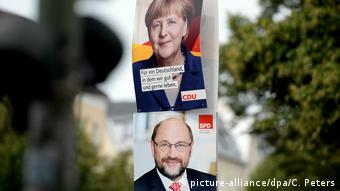 Campaign posters in Berlin