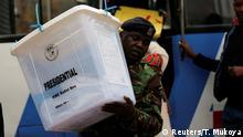 Kenia Wahlen 2017 Auszählung
