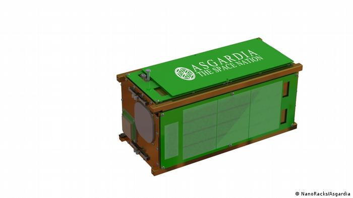 Asgardia The Space Nation (NanoRacks/Asgardia)