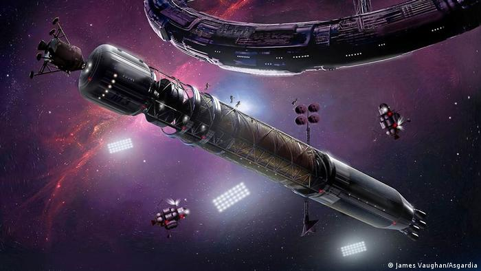 Asgardia The Space Nation (James Vaughan/Asgardia)