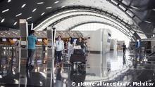 3135585 06/19/2017 Passengers at Hamad International Airport in Doha. Valeriy Melnikov/Sputnik Foto: Valeriy Melnikov/Sputnik/dpa |