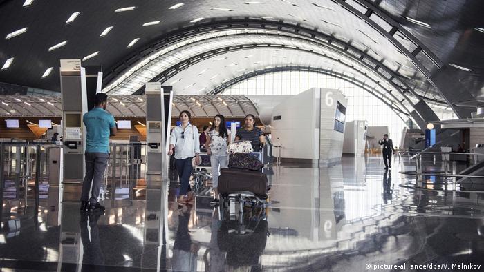 Katar Hamad International Airport in Doha