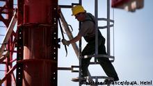 Symbolbild - Bauarbeiter in Deutschland