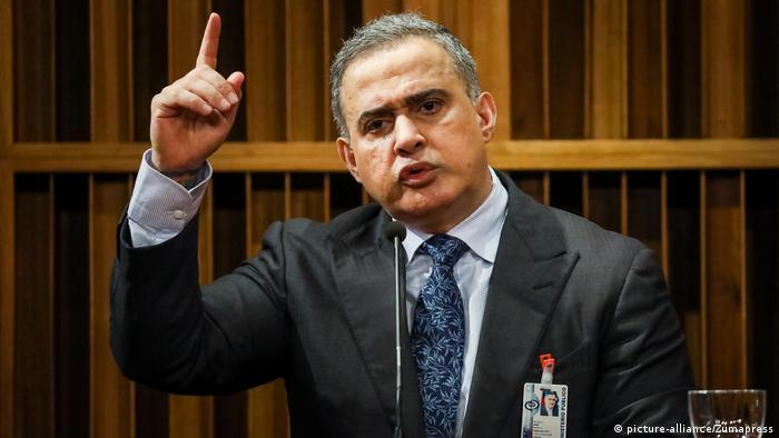 Venezuela Caracas Tarek William Saab Generalstaatsanwalt (picture-alliance/Zumapress)